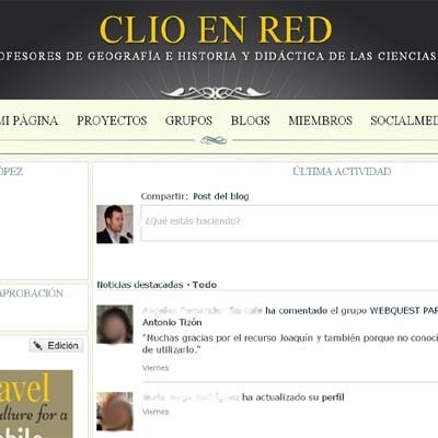 Clío en Red: una red social para profesores de Geografía e Historia gestionada desde la comarca cuellarana