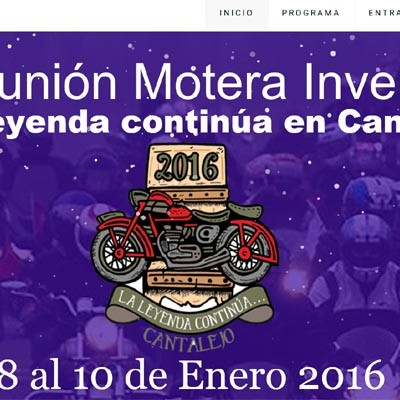 La Reunión Motera Invernal de Cantalejo supera ya las 500 inscripciones