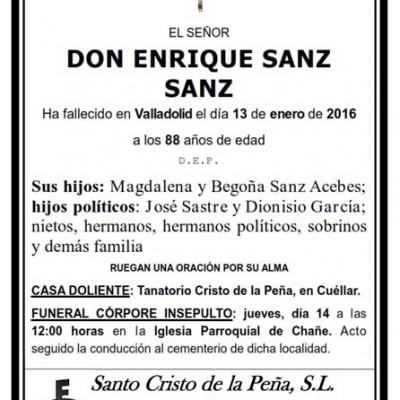 Enrique Sanz Sanz