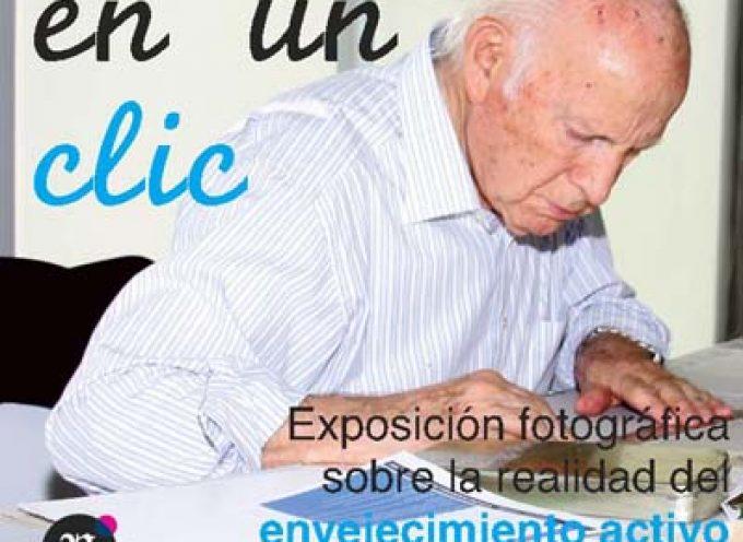 """El Centro de Día de Personas Mayores acoge la exposición """"La vida en un clic"""""""