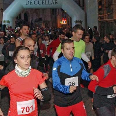 Atletismo Cuéllar se pone al frente de la San Silvestre Cuellarana en su XXI edición