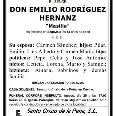 Emilio Rodríguez Sanz