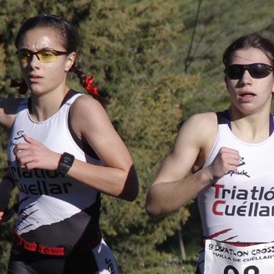 Marina Muñoz, campeona regional en categoría cadete de Duatlón Cross