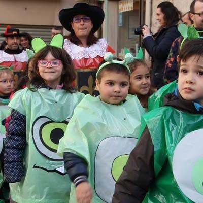Literatura y cine, protagonistas del carnaval de los colegios de Cuéllar