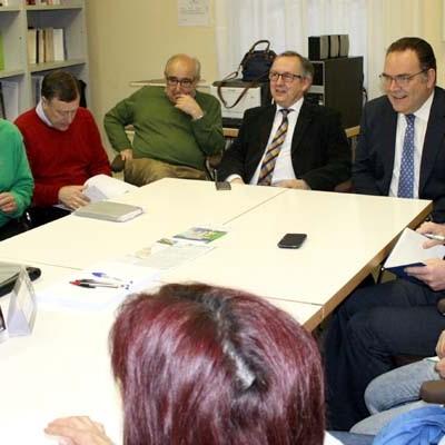 El delegado territorial traslada al equipo del centro de salud de Fuentesaúco de Fuentidueña el agradecimiento por su trabajo y dedicación