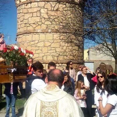 La comarca suma sus actos a la celebración de la Semana Santa