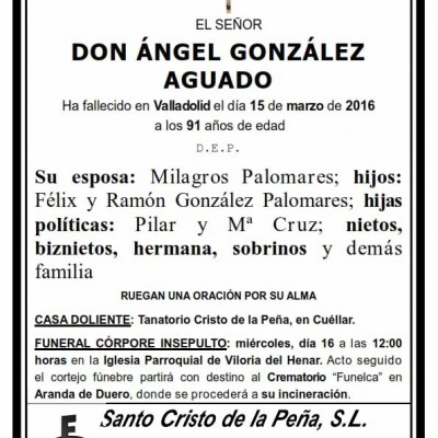 Ángel González Aguado
