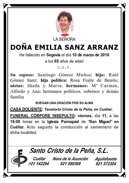 Esquela Emilia Sanz_001