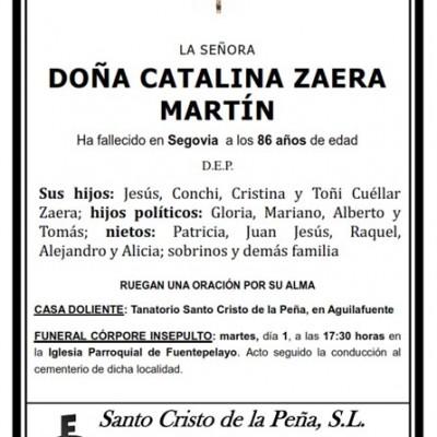 Catalina Zaera Martín