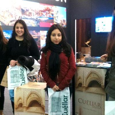 Turismo de Cuéllar participó en la Feria Internacional de Turismo de Navarra