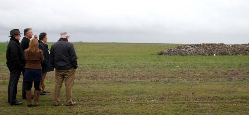 La Junta exige a la planta de compostaje la retirada de residuos de las tierras de Fuentepelayo y su entorno
