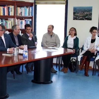 El delegado territorial de la Junta ha visitado el centro de salud de Cantalejo
