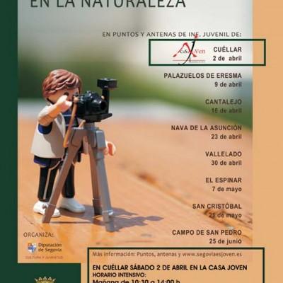 Taller de fotografía en la naturaleza para jóvenes en Vallelado