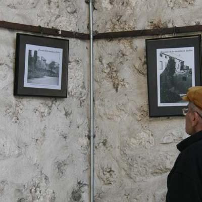 El Patio del Ayuntamiento recoge la evolución de las murallas de Cuéllar a través de la fotografía