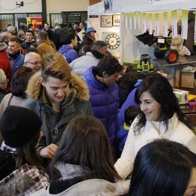 La climatología no pudo con la Feria del Ángel de Fuentepelayo