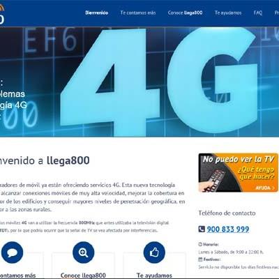 La llegada del 4G a la comarca provoca problemas en la recepción de la señal de televisión