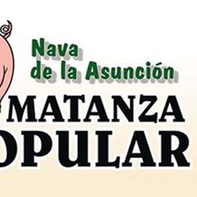 Nava de la Asunción celebra hoy su III Matanza Popular
