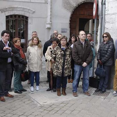 El Ayuntamiento de Cuéllar se sumó al minuto de silencio por los atentados  en Bruselas