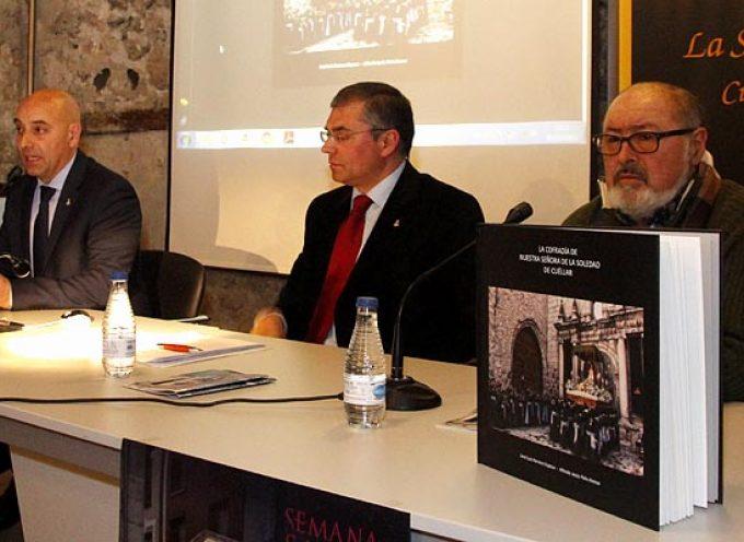 José Luis Herrero y Alfredo Polo recogen en un libro la historia de la Cofradía de La Soledad de Cuéllar