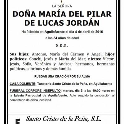 María del Pilar de Lucas Jordán