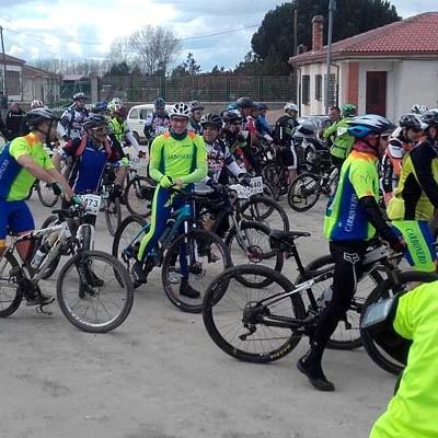 El I Paseo Ciclista de Zarzuela del Pinar contó con un centenar de participantes