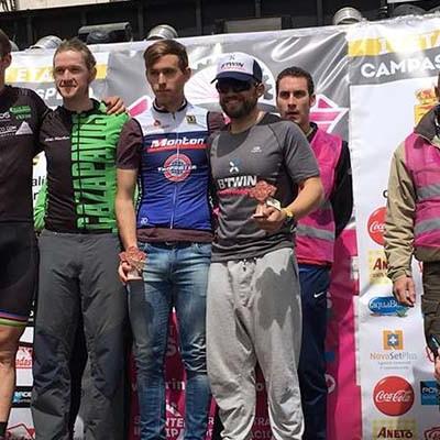 Alberto Guinea y Jorge Pérez se impusieron en la I Ruta del Circuito BTT Series en Campaspero
