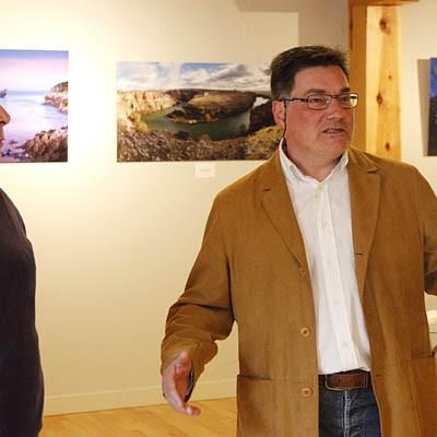 """Rincones de la comarca centran la exposición fotográfica """"Paisajes con sentimiento"""" de Eduardo Marcos en Tenerías"""