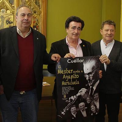 El Nuevo Mester de Juglaría recordará a Agapito Marazuela en un exclusivo concierto acústico