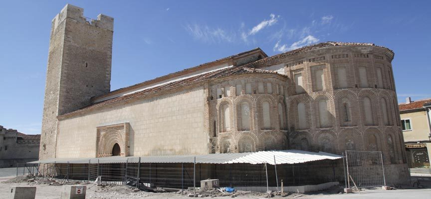 Patrimonio autoriza la actividad arqueológica en el entorno de la iglesia de San Martín