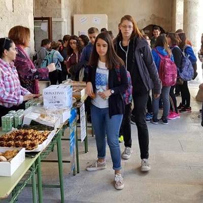 Almuerzos solidarios en el IES Duque de Alburquerque