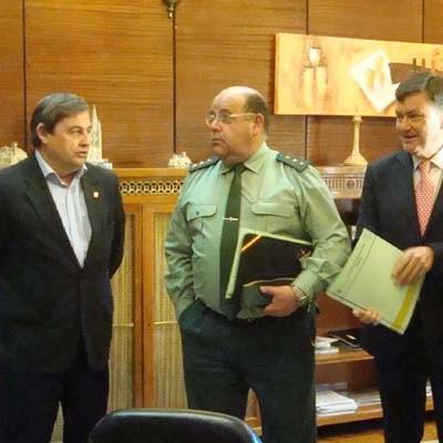 Los cuarteles de Nava de la Asunción y Coca serán reparados con el convenio del Ministerio del Interior y la Diputación