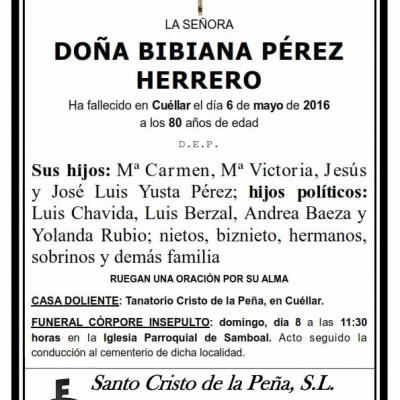Bibiana Pérez Herrero