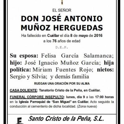 José Antonio Muñoz Herguedas