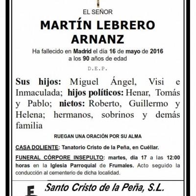 Martín Lebrero Arnanz