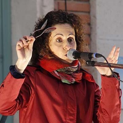 Vanesa Muela puso la nota musical a las fiestas de Torrescárcela