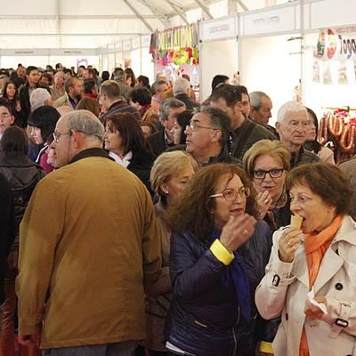 La Diputación subvenciona 25 ferias y a 25 productores de Alimentos de Segovia