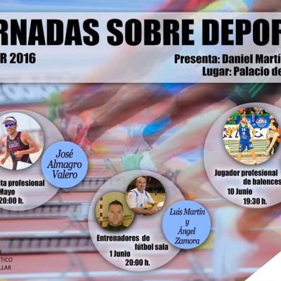 El triatleta José Almagro abrirá mañana las `Jornadas sobre Deporte´ en Cuéllar