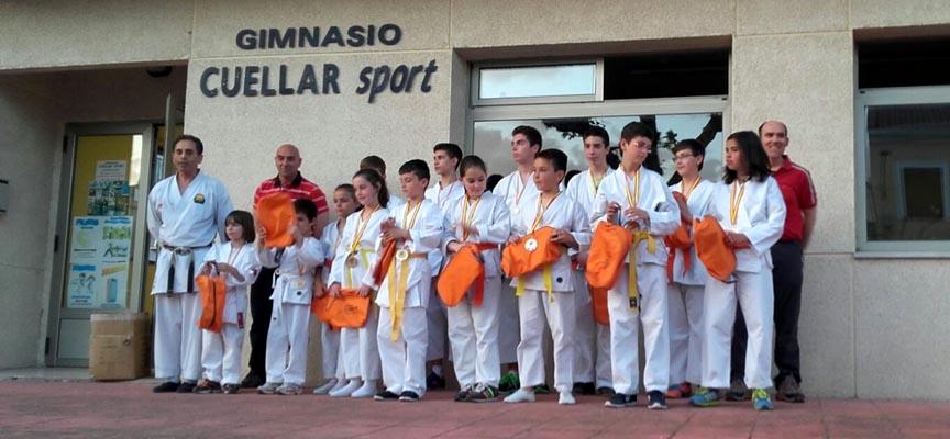Participantes en el campeonato provincial.