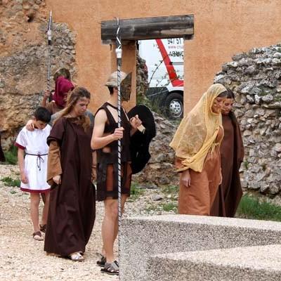 El grupo de teatro Los Mirmidones cosechó un nuevo éxito en Clunia
