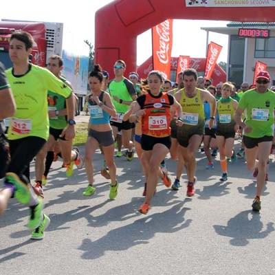 Oscar F. Giralda y Marta Vírseda, ganadores de la Carrera Solidaria de El Campo (avance)
