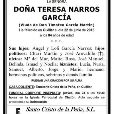 Teresa Narros García