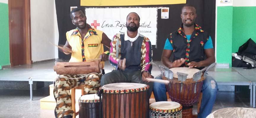 El Grupo Sico Bana durante una actuación.