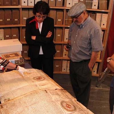 Los archivos de Cuéllar mostraron algunos de sus secretos
