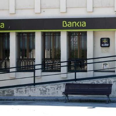 Robo fallido en la sucursal de Bankia de Chañe