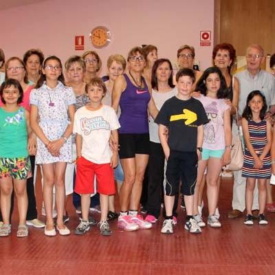 Los hábitos saludables han centrado las actividades intergeneracionales del Centro de Día
