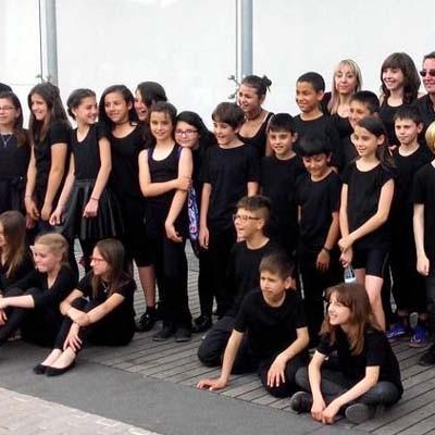 Los colegios San Gil y La Villa participaron en el proyecto musical `Cantania´