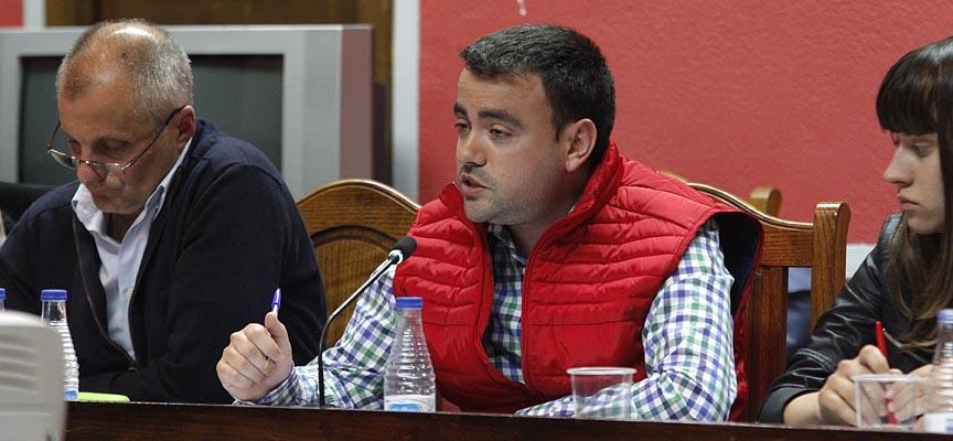 Carlos Fraile, concejal del PSOE en el Ayuntamiento de Cuéllar.