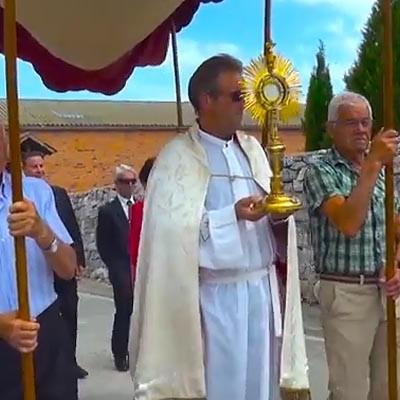 Cozuelos de Fuentidueña celebró sus fiestas de la Minerva en honor al Santísimo