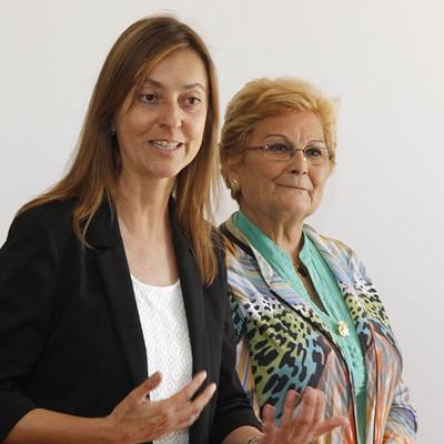 La directora general de la Mujer inaugura en Hontalbilla el curso de formación de alfabetización digital