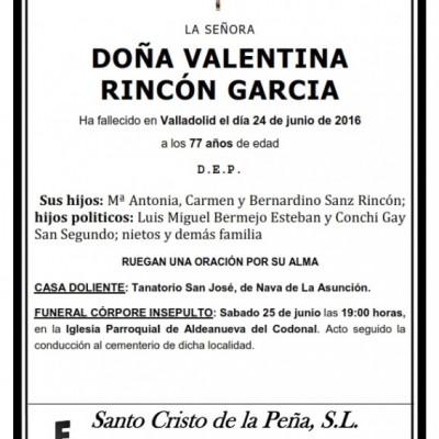 Valentina Rincón García